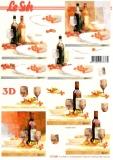 3D-Bogen Wein von LeSuh (777.049)