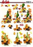 3D-Bogen Wein von LeSuh (777.065)