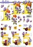 3D-Bogen 1 & 5 Jahre von Nouvelle (8215327)