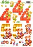 3D-Bogen 4. & 5.Geburtstag von LeSuh (777.286)