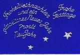 Sticker - Weihnachtliche Schriften - silber - 454