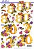 3D-Bogen 20 & 80 Jahre von Nouvelle (8215333)