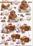 3D-Bogen Kaffee und Kuchen von Nouvelle (8215606)