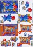 3D-Bogen Bärchen & Elefant von LeSuh (4169452)
