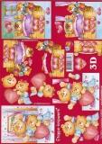 3D-Bogen Bären mit Herz von LeSuh (4169431)