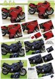 3D-Pyramidenbogen Motorrad von LeSuh (630.101)