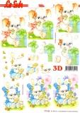 3D-Bogen Hase & Elefant von LeSuh (777.536)