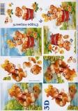 3D-Bogen Bär & Küken von LeSuh (4169238)