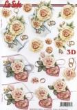 3D-Bogen Ringe & Herzen von Nouvelle (8215472)