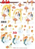 3D-Bogen Brautpaar von LeSuh (777.030)