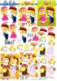 3D-Bogen Kisses von LeSuh (777.063)