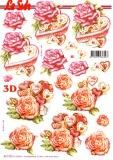 3D-Bogen Rosen & Pralinen von Nouvelle (8215702)