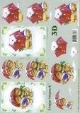 3D-Bogen Bären von LeSuh (4169341)
