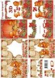 3D-Bogen Weihnachtsbären von LeSuh (4169315)
