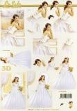 3D-Bogen Mädchen von LeSuh (777.117)