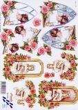 3D-Bogen Kommunion Mädchen von Nouvelle (8215150)