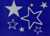 Sticker - Sterne 1 - silber - 856