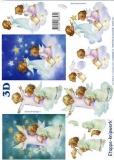 3D-Bogen Engel auf Wolke von LeSuh (4169535)
