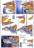 3D-Bogen Maria & Kind von LeSuh (416969)