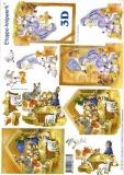 3D-Bogen Weihnachtskrippe von LeSuh (4169319)