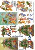 3D-Bogen Engel & Baum von LeSuh (4169350)