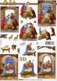3D-Bogen Weihnachtskrippe von LeSuh (4169941)