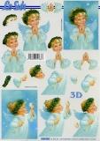 3D-Bogen Engel mit Kranz von LeSuh (4169920)