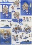 3D-Bogen Engel singen und backen von LeSuh (4169957)