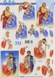 3D-Bogen Heilige Familie von LeSuh (4169948)