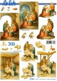 3D-Bogen Kind in der Krippe von LeSuh (777.093)