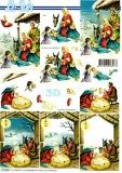 3D-Bogen Weihnachtskrippe von LeSuh (777.201)