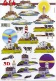 3D-Bogen Leuchttürme von LeSuh (777.430)