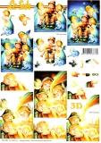 3D-Bogen Engel & Kinder von LeSuh (777.551)