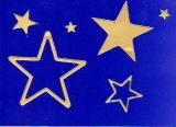 Sticker - Sterne 1 - gold - 856