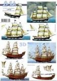3D-Bogen Segelschiffe von LeSuh (4169720)