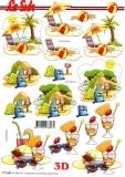 3D-Bogen Urlaub / Ferien / Zelten von LeSuh (777.453)