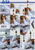 3D-Bogen Leuchtturm von LeSuh (777.019)