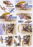 3D-Bogen Strandleben von Nouvelle (8215152)