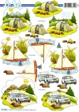3D-Bogen Zelt und Wohnwagen von LeSuh (777.452)