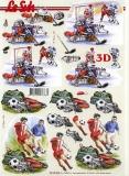 3D-Bogen Eishockey & Fußball von Nouvelle (8215294)