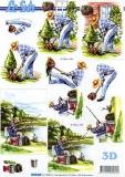 3D-Bogen Gärtner & Angler von Nouvelle (8215203)