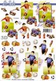 3D-Bogen Fußballer von LeSuh (777.110)