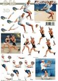 3D-Bogen Tennis von LeSuh (777.391)