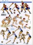 3D-Bogen Volleyball von LeSuh (777.504)