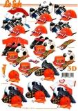 3D-Bogen Fußball Holland von LeSuh (777.423)
