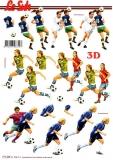 3D-Bogen Frauenfußball von LeSuh (777.435)