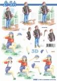 3D-Bogen Mädchen von LeSuh (777.567)
