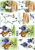 3D-Bogen Fußball & Tennis von Nouvelle (8215177)