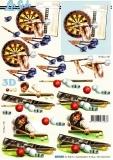 3D-Bogen Dart & Billard von Nouvelle (8215301)