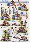 3D-Bogen Baseball & Hockey von Nouvelle (8215295)